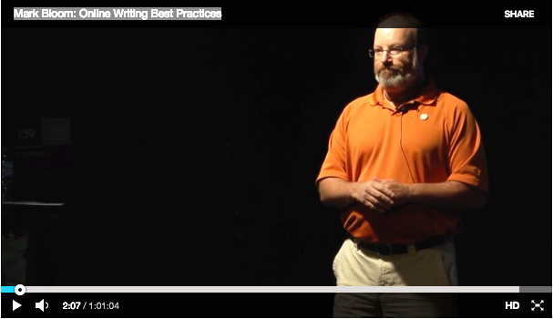 See Mark present Online Writing Best Practices at WordCamp Asheville in 2015