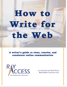 Sign up for our newsletter to get our free ebook, How to Write for the Web